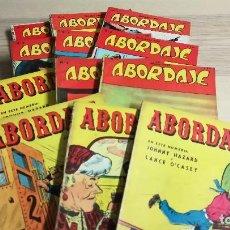 Cómics: LOTE ABORDAJE 1 AL 12. EDITORIAL BOIA. ARGENTINA, SEPTIEMBRE 1958 - AGOSTO 1959. Lote 111629519