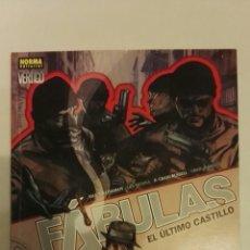 Cómics: FABULAS EL ÚLTIMO CASTILLO. Lote 111713982