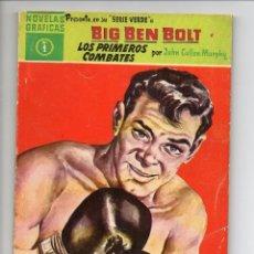 Cómics: BIG BEN BOLT, SERIE VERDE, AÑO 1.958. COLECCIÓN COMPLETA SON 42. TEBEOS ORIGINALES EDITORIAL DOLAR.. Lote 111752695