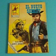Cómics: EL NUEVO SHERIFF. COLECCIÓN GRAN OESTE. Lote 111787763