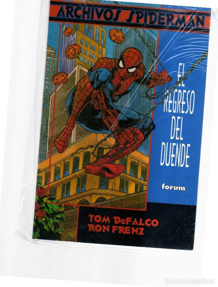 SPIDERMAN ARCHIVOS EL REGRESO DEL DUENDE (Tebeos y Comics - Comics otras Editoriales Actuales)