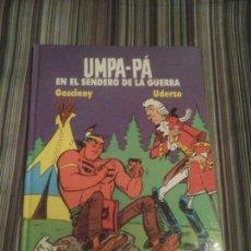 Cómics: UMPA PÁ EN EL SENDERO DE LA GUERRA. GOSCINNY UDERZO EDITA AKAL. 1989 TAPAS DURAS NÚMERO 2. Lote 111909479