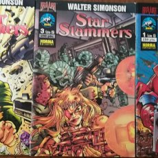 Cómics: STAR SLAMMERS. Lote 111910826