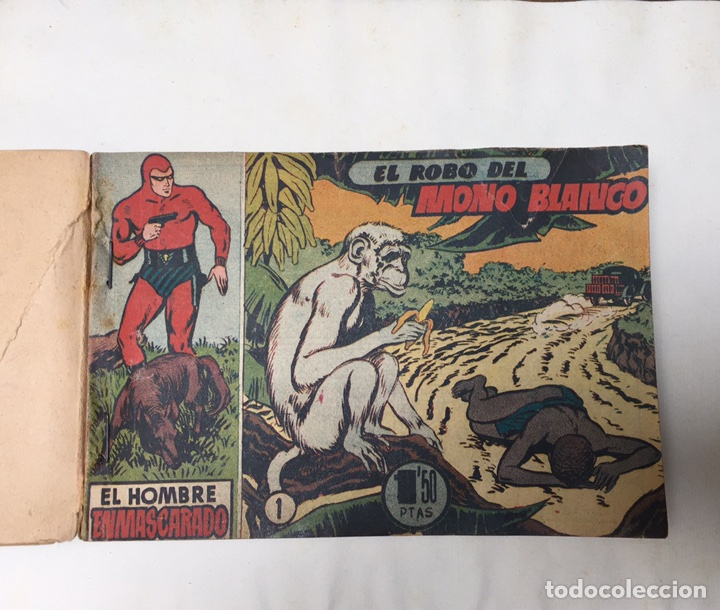 EL HOMBRE ENMASCARADO. RARÍSIMOS 19 NÚMEROS. LEE FALK; W. MCCOY. THE PHANTOM 1951 (Tebeos y Comics - Comics Colecciones y Lotes Avanzados)