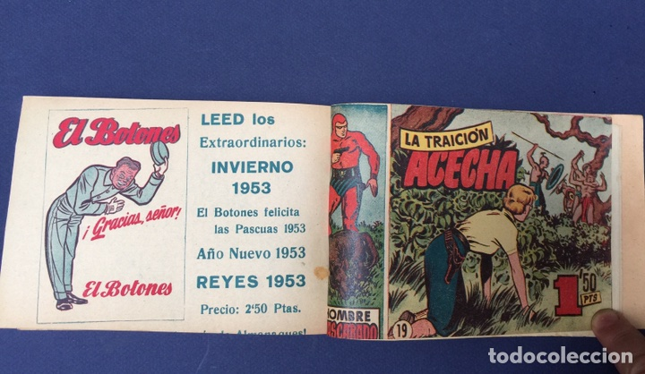 Cómics: El Hombre Enmascarado. Rarísimos 19 números. Lee Falk; W. McCoy. The Phantom 1951 - Foto 2 - 111982343