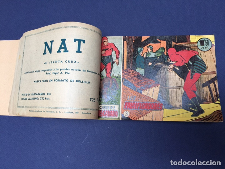 Cómics: El Hombre Enmascarado. Rarísimos 19 números. Lee Falk; W. McCoy. The Phantom 1951 - Foto 6 - 111982343