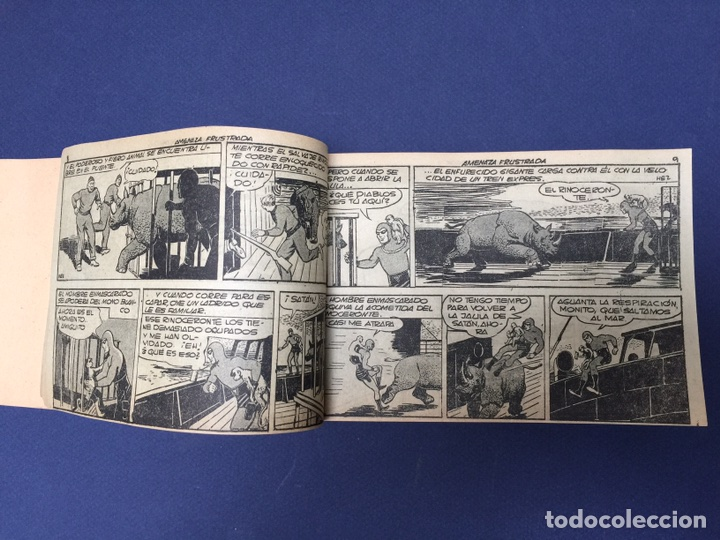 Cómics: El Hombre Enmascarado. Rarísimos 19 números. Lee Falk; W. McCoy. The Phantom 1951 - Foto 7 - 111982343