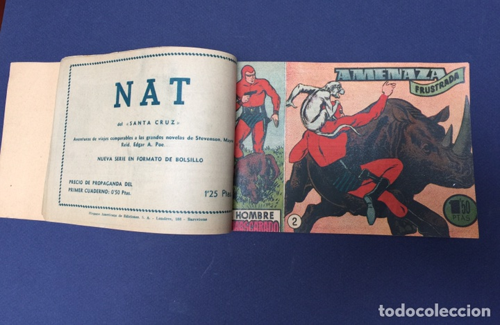 Cómics: El Hombre Enmascarado. Rarísimos 19 números. Lee Falk; W. McCoy. The Phantom 1951 - Foto 8 - 111982343