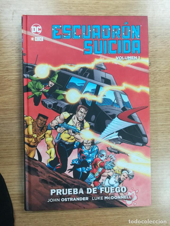 ESCUADRON SUICIDA #1 PRUEBA DE FUEGO (ECC EDICIONES) (Tebeos y Comics - Comics otras Editoriales Actuales)