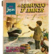 Cómics: SUPER JOYAS. Nº 1. EDMUNDO D´AMICIS. BRUGUERA 1977. (ST/A1). Lote 112143087