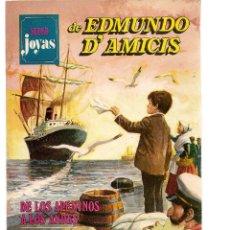 Cómics: SUPER JOYAS. Nº 1. EDMUNDO D´AMICIS. BRUGUERA 1977. (ST/A1). Lote 112143155