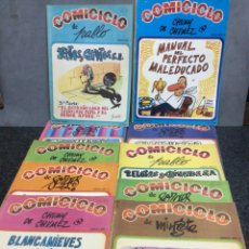 Cómics: COMICICLO , LOTE DE 26 EJEMPLARES - FORGES, MINGOTE, CHUMI CHÚMEZ, SERAFÍN, PABLO, ELCUBRI ..... Lote 112144831
