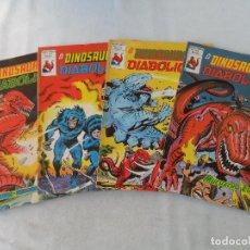 El Dinosaurio Diabolico nº 1 al 4 completa - Jack Kirby - Vertice