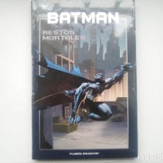 Cómics: BATMAN Nº 30 - RESTOS MORTALES. DC 75 ANIVERSARIO. PLANETA DEAGOSTINI. NUEVO. 2010 COMIC. Lote 112226655