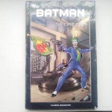 Cómics: BATMAN Nº 21 - SECRETOS. DC 75 ANIVERSARIO. PLANETA DEAGOSTINI. NUEVO. 2010 COMIC. Lote 112227663