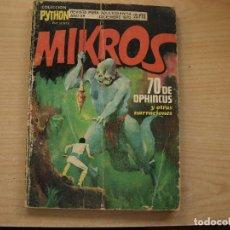 Cómics: MIKROS - COLECCION PYTHON - NÚMERO 14 - . Lote 112260079