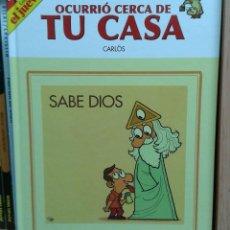 Cómics: OCURRIO CERCA DE TU CASA. SABE DIOS, DE CARLÖS. EL JUEVES. Lote 112348027