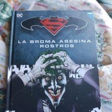 Cómics: BATMAN Y SUPERMAN. LA BROMA ASESINA Y ROSTROS (COLECCIÓN NOVELAS GRÁFICAS). Lote 112516351
