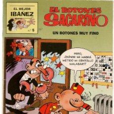 Cómics: EL MEJOR IBAÑEZ. Nº 5. EL BOTONES SACARINO. EDICIONES B. 1999 (ST/). Lote 112790995