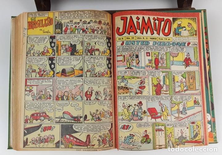 Cómics: LOTE DE 25 EJEMPLARES ENCUADERNADOS EN 1 TOMO. VARIOS AUTORES. 1950/1955. - Foto 3 - 113086855