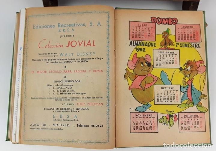 Cómics: LOTE DE 25 EJEMPLARES ENCUADERNADOS EN 1 TOMO. VARIOS AUTORES. 1950/1955. - Foto 8 - 113086855