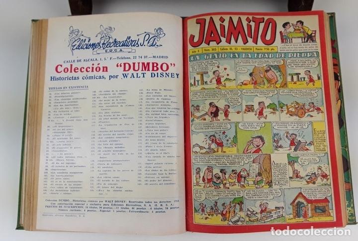 Cómics: LOTE DE 25 EJEMPLARES ENCUADERNADOS EN 1 TOMO. VARIOS AUTORES. 1950/1955. - Foto 9 - 113086855