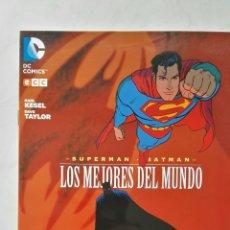 Cómics: SUPERMAN BATMAN LOS MEJORES DEL MUNDO DC CÓMICS. Lote 113215780