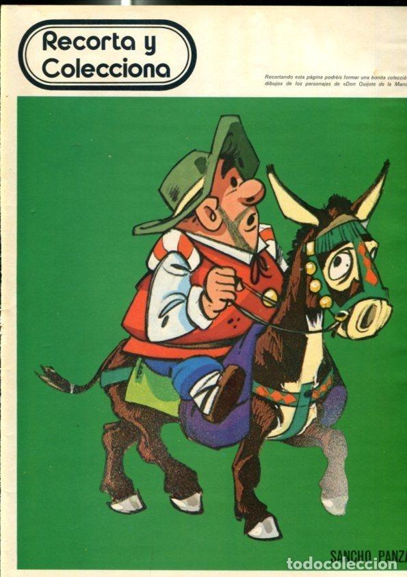 DON QUIJOTE DE LA MANCHA : SANCHO PANZA (Tebeos y Comics Pendientes de Clasificar)