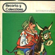 Cómics: DON QUIJOTE DE LA MANCHA : SANCHO PANZA. Lote 113311091