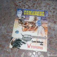 Cómics: COMANCHE , LOS LOBOS DE WYOMING, JET BRUGUERA. Lote 113455015
