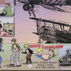 Cómics: JORGE Y FERNANDO Nº 4: TIRAS DEL 17.7.1929 AL 30.11.1929 (EL BOLETIN) - IMPECABLE - OFM15. Lote 114628942