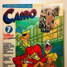 Cómics: CAIRO Nº7 EXTRA DE VERANO NORMA EDITORIAL . Lote 113682899
