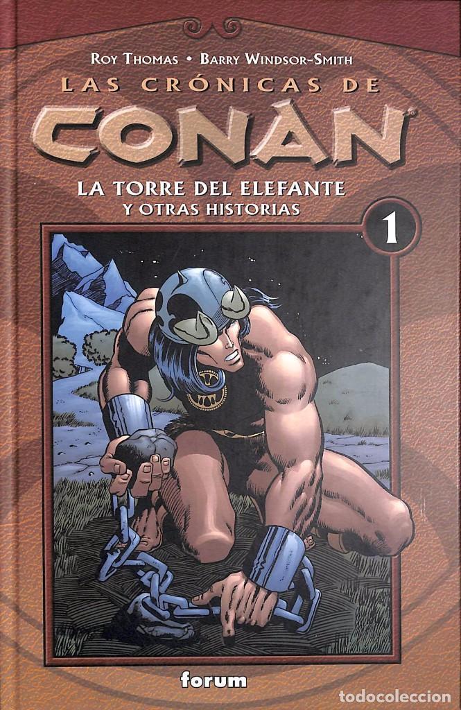 LAS CRONICAS DE CONAN: LA TORRE DEL ELEFANTE Y OTRAS HISTORIAS Nº 1 (Tebeos y Comics Pendientes de Clasificar)