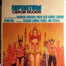 Cómics: INFINITUM, ED. PRODUCCIONES EDITORIALES, ROWLF DE CORBEN, 1976. Lote 113869127