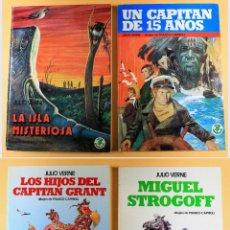 Cómics: JULIO VERNE - COLECCIÓN COMPLETA - FRANCO CAPRIOLI. Lote 114148527