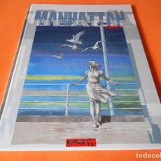 Cómics: MANHATTAN BEACH 1957 . HERMANN & YVES H. CARTONÉ. COMO NUEVO.. Lote 114159683