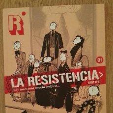 Cómics: LA RESISTENCIA #1 - ESTO NO ES UNA NOVELA GRÁFICA - DIBBUKS. Lote 114323543