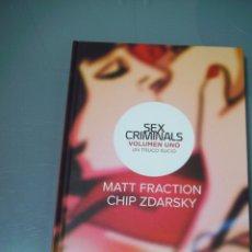 Cómics: SEX CRIMINALS 1. UN TRUCO SUCIO - MATT FRACTION / CHIP ZDARSKY.. Lote 114384467
