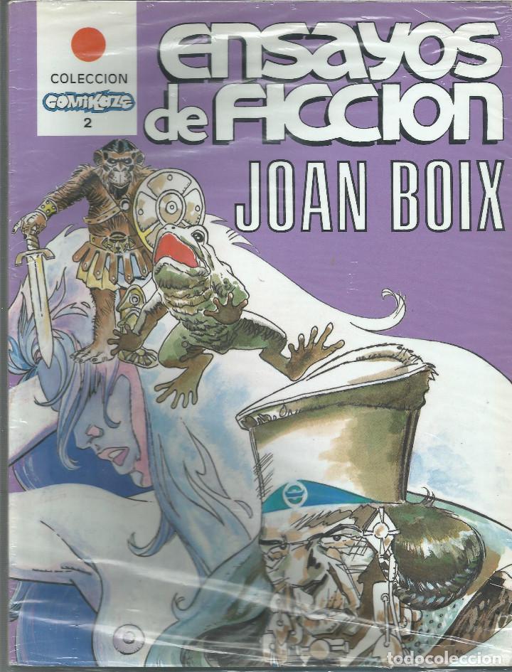 COLECCIÓN COMIKAZE ENSAYOS DE FICCIÓN Nº 2 JOAN BOIX (Tebeos y Comics Pendientes de Clasificar)
