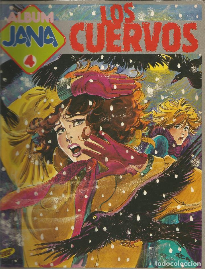 ALBUM JANA LOS CUERVOS Nº 4 SOCIEDAD ANÓNIMA DE REVISTAS (Tebeos y Comics Pendientes de Clasificar)