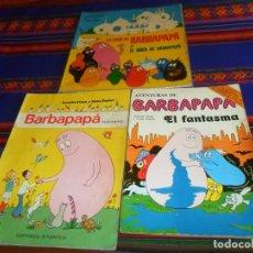 Cómics: LA CASA Y EL ARCA DE BARBAPAPÁ, AVENTURAS FANTASMA ARGOS VERGARA 1979, HISTORIETAS JUVENTUD 1975!!!!. Lote 40985914
