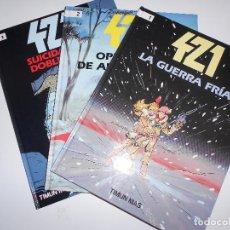 Cómics: 421 COLECCIÓN COMPLETA 3 TOMOS. Lote 114600631