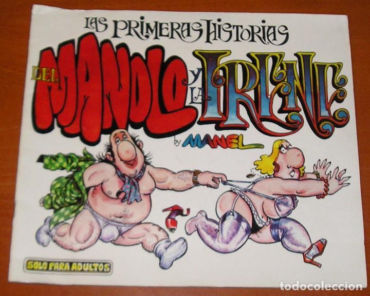 LAS PRIMERAS HISTORIAS DEL MANOLO Y LA IRENE EDICIONES AMAIKA (Tebeos y Comics Pendientes de Clasificar)