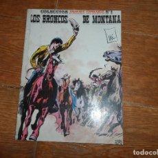 Cómics: JERRY SPRING Nº 1 LOS BRONCOS DE MONTANA EDICIONES RO 1982 . Lote 114915223