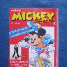Cómics: MICKEY SEMANAL N.º 14 - EDITORIAL PRIMAVERA 1991. Lote 114967667