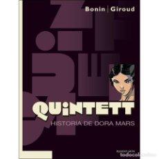 Cómics: QUINTETT . HISTORIA DE DORA MARS. Lote 115281379