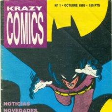 Cómics: KRAZY COMICS DE ED. COMPLOT COLECCION COMPLETA MAS EXTRA Nº1. Lote 115358883