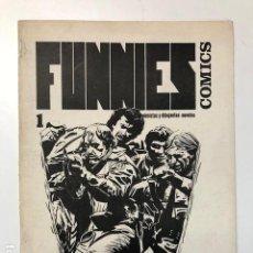 Cómics: FUNNIES COMICS N° 1 GUIONISTAS Y DIBUJANTES NOVELES. FANZINE ORIGINAL BARCELONA. Lote 115581647