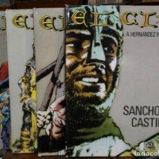Cómics: IMÁGENES DE LA HISTORIA, EL CID - 4 LIBROS, COLECCIÓN COMPLETA - IKUSAGER EDICIONES . Lote 115653687