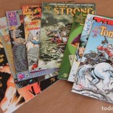 Cómics: TOM STRONG 1 2 3 4 5 6 7 8 - ED PLANETA, AÑO 2000 - MUY BUEN ESTADO - TAMBIÉN SUELTOS. Lote 115683747